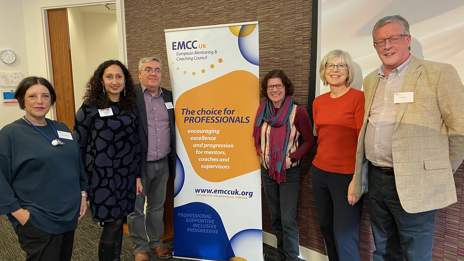 Speakers at the EMCC UK Conference in January 2020