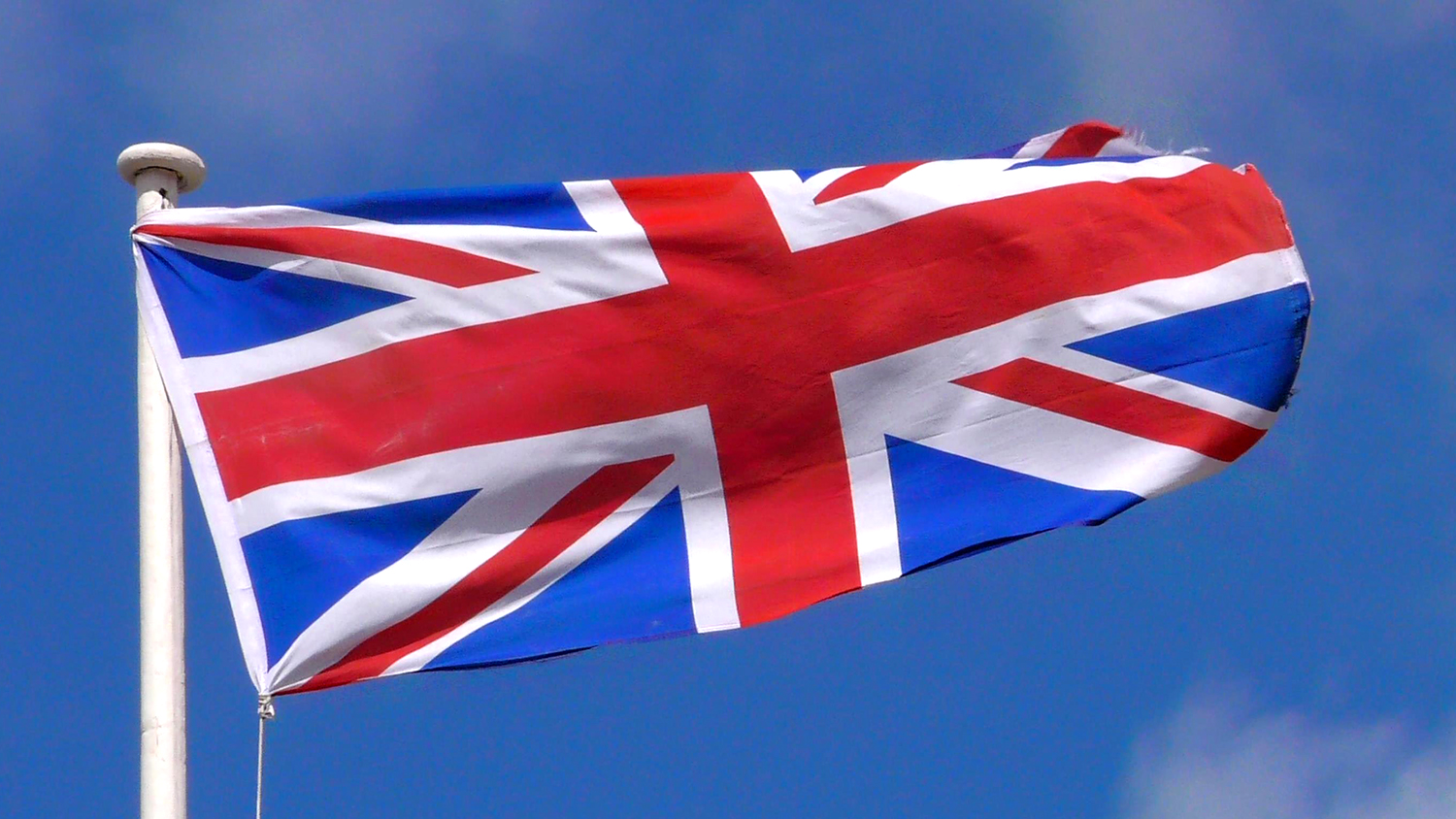 union jack flying